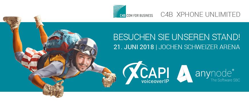 Wir freuen uns schon auf das C4B-Partnerevent in der Jochen Schweizer Arena in München!
