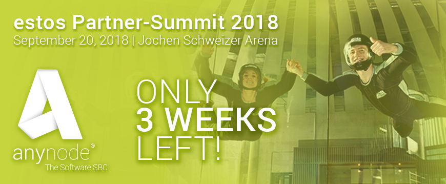 Only 3 weeks left until estos Partner Summit 2018