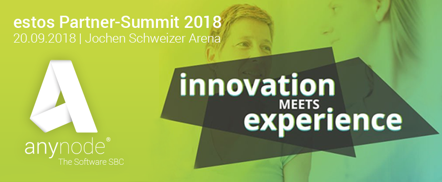 """Innovation meets Experience"" – estos Partner-Summit 2018"