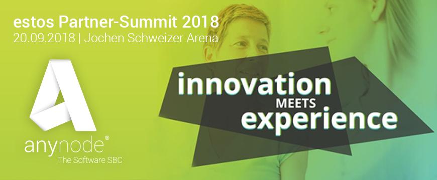 """""""Innovation meets Experience"""" – estos Partner-Summit 2018"""