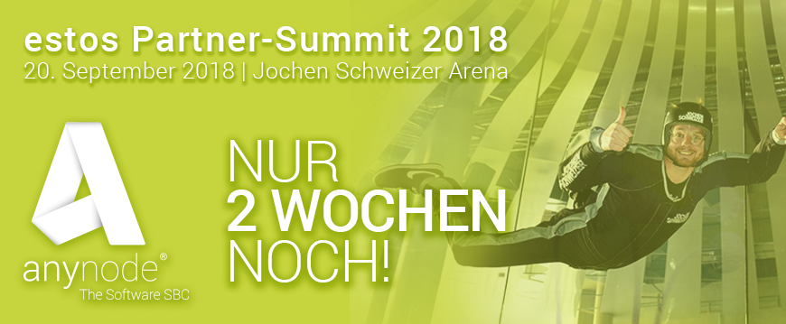Estos Partner Summit 2018 – Bodyflying Teil 2