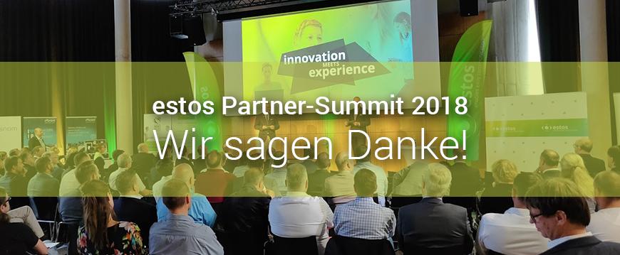 Estos Partner-Summit: Wir sagen Danke für diesen großartigen Tag!