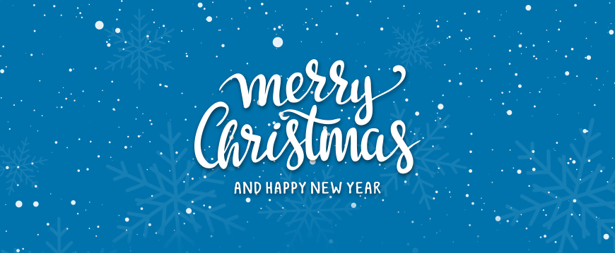Merry Christmas and a Happy New Year in